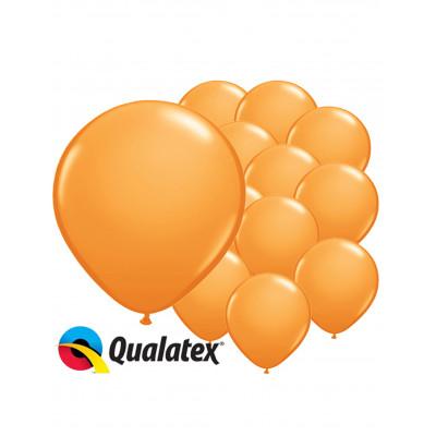 Latexove balony  oranzove...
