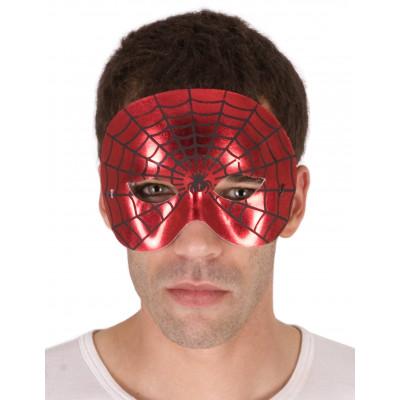 Maska cervena spiderman