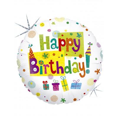 Balon HAPPY BIRTHDAY