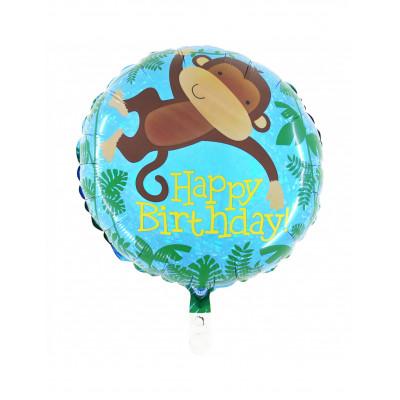 Balon opica Happy Birthday...