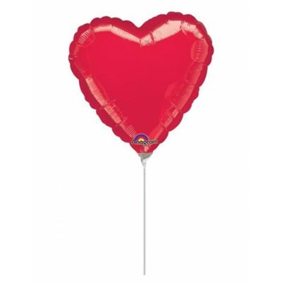 Balon na palicke srdce