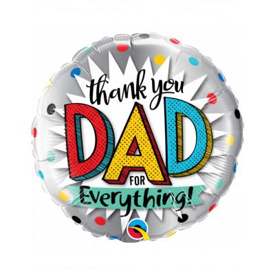 "Balon napis ""THANK YOU DAD..."