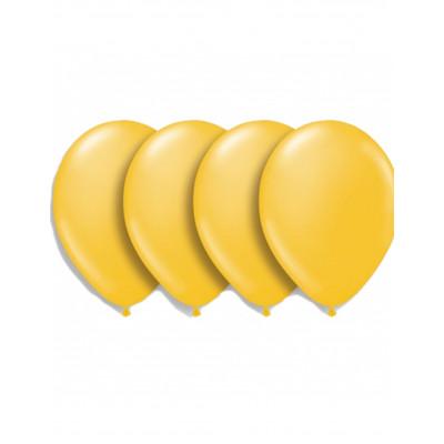 Latexove zlte balony 10ks 30cm
