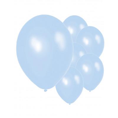 Latexove balony modre 50ks...