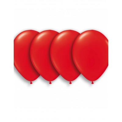 Latexove balony cervene...