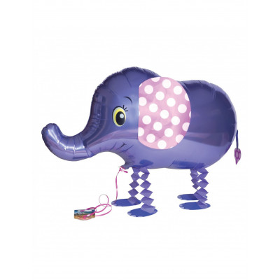 Balon modry slon 82,9X46,2CM