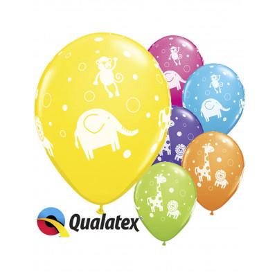 Latexove balony dzungla 6ks...