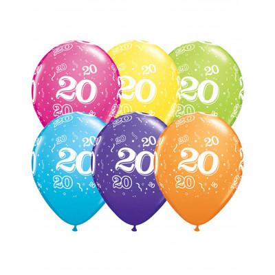 Latexove balony 6ks c.20...