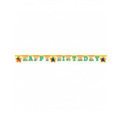 Girlanda narodeninova Happy...