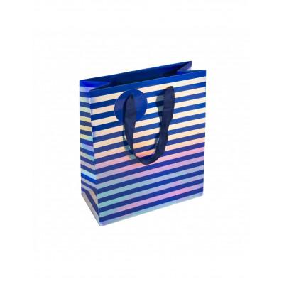 Taska modre pasiky MEDIUM